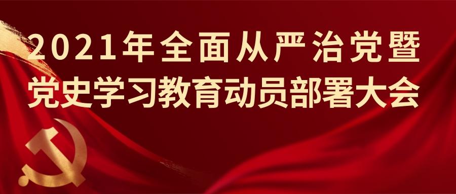 科技发展公司召开2021年全面从严治党暨党史学习教育动员部署大会
